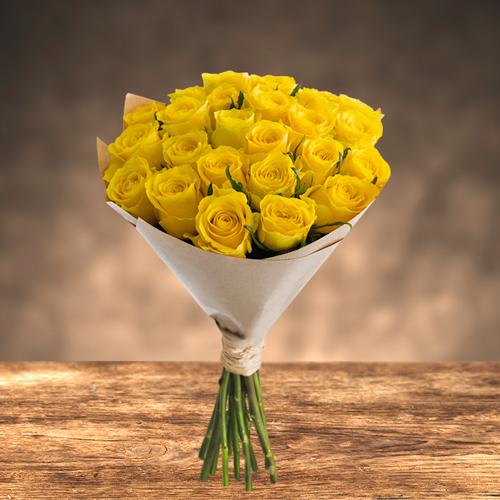 2 Dozen Sunny Roses