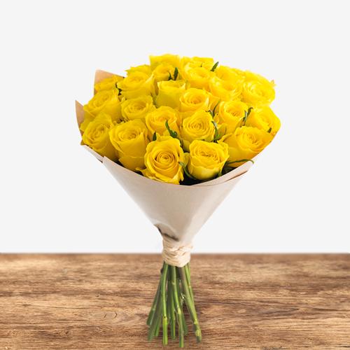 24 Sunny Roses