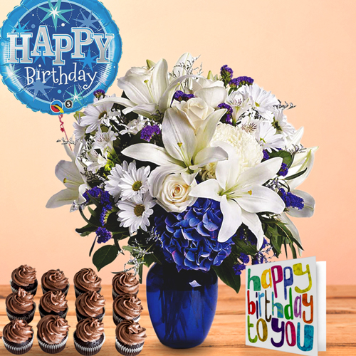 Blue Beauty Birthday Package