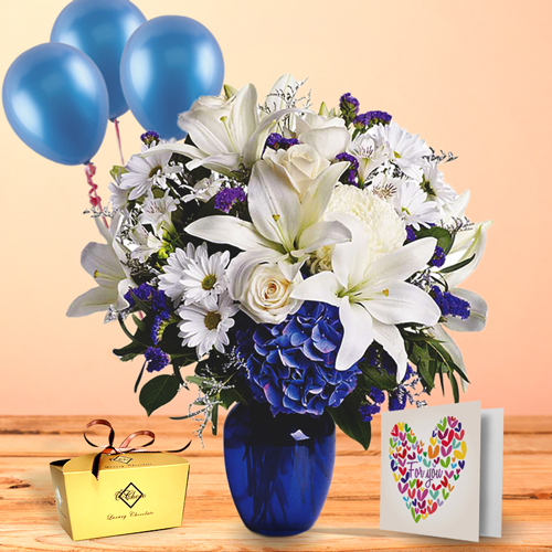 Blue Beauty Package with Love