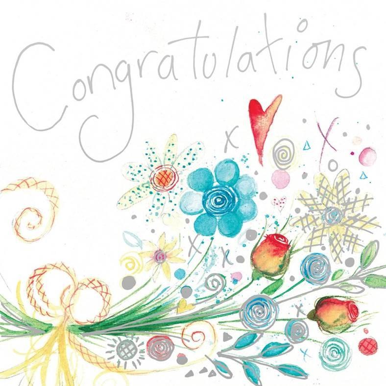 Congratulations Premium Card